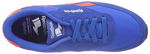 Reebok Jungen Royal Classic Jogger 2rs Laufschuhe Blau (Blue Sport/Atomic Red/Black/White)