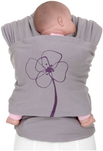 Cheap Moby Lotta Baby Wrap – Blomster – One Size