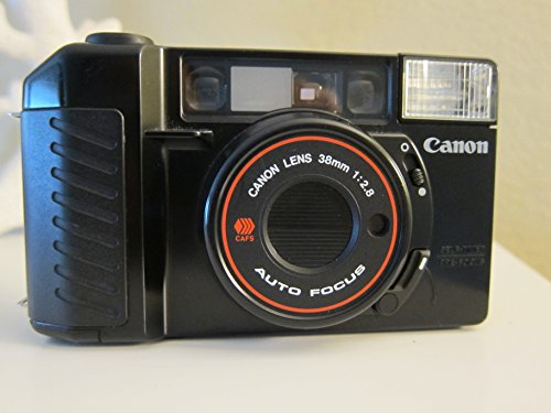 - Canon Sure Shot 35mm point and shoot film camera with 38 mm f/2.8 Lens