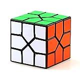 JIAAE REDI Allotype Rubik's Cube Professional Competition Rubik Children Puzzle Toy,Black