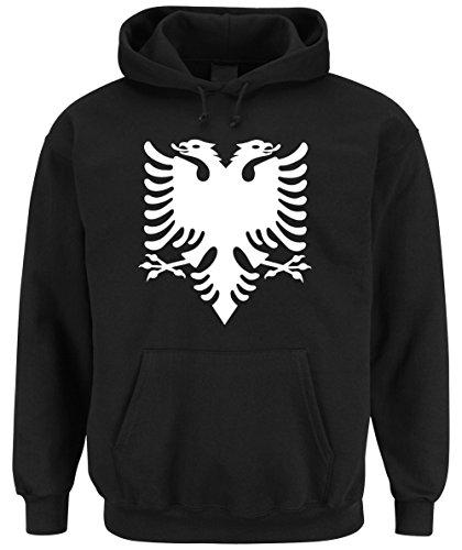 Shqiptar't Hoodie Black