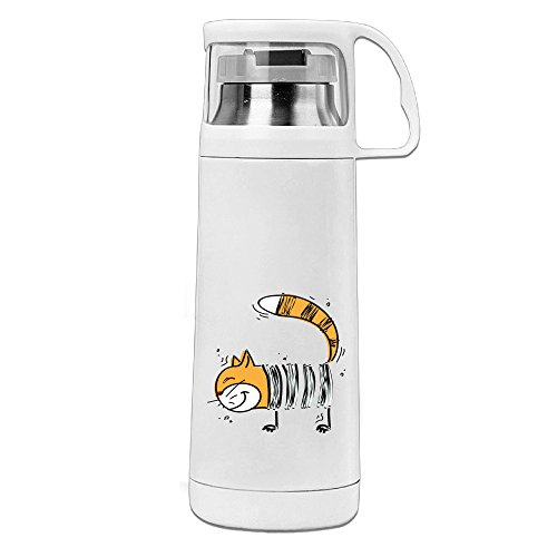 MUG Bottle Barcode Cat Stainless Steel Vacuum Cup