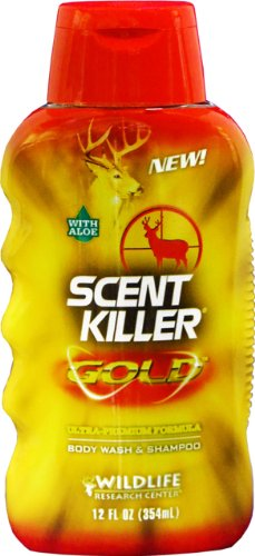 Wildlife Research Scent Killer Gold Body Wash and Shampoo, (12-Ounce) -  Wildlife Research Center, 1240
