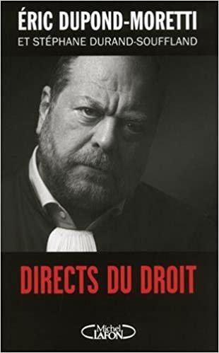 Éric Dupond-moretti - Directs du droit