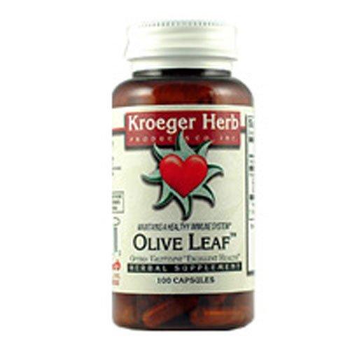Kroeger Herb Olive Leaf Caps 100 Cap