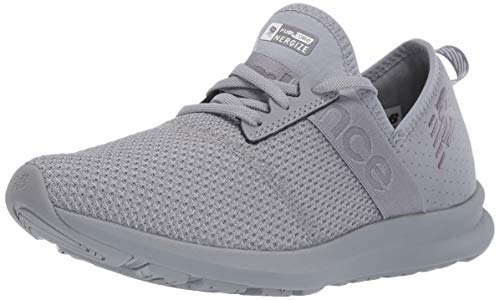 New Balance Women's Nergize V1 FuelCore Sneaker,STEEL,6 D US
