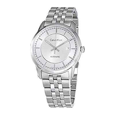 Calvin Klein Infinite Automatic Silver Dial Men's Watch K5S34146