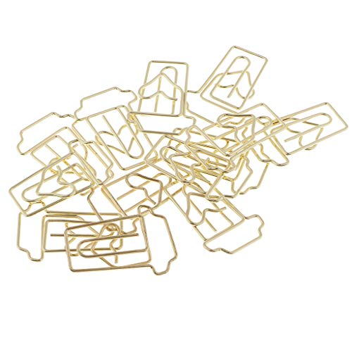 - Fenteer Creative Coffee Cup Shapes Paper Clips for Professional Work&Christmas Decoration HOT