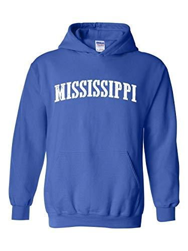 Mississippi State Flag Jackson Traveler`s Gift Unisex Hoodie