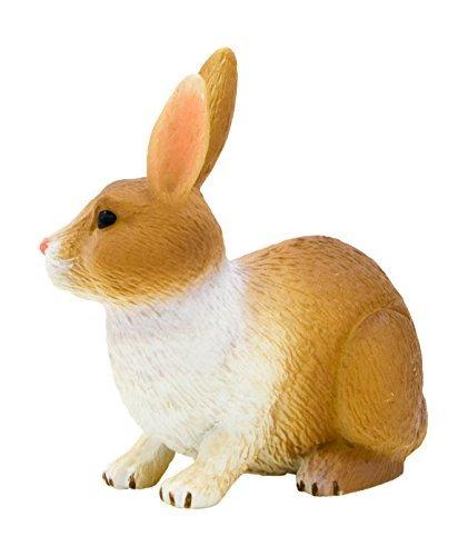 Figure MOJO ANIMALPLANET Animal Planet rabbit (brown & white) 387030