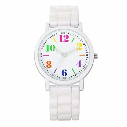silicone jelly watch for men - 9