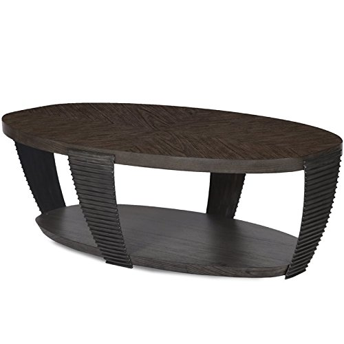 Magnussen Oval Table - Magnussen Kendrick Oval Coffee Table