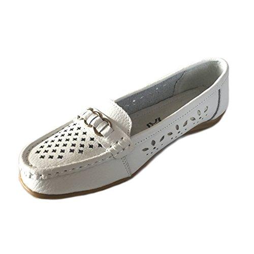 Scandi- Damen Slipper Sneaker Schuhe - Weiß Größe 36-41Neu Weiß