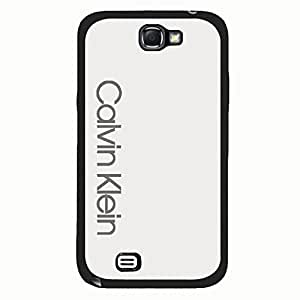 Calvin Klein A Phone Case Cover for Samsung Galaxy Note 2 Black Hard Case_Cool Style