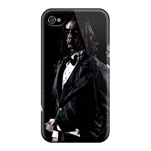 TimeaJoyce Iphone 4/4s Shockproof Hard Cell-phone Cases Provide Private Custom High-definition Beseech Band Pattern [lGs2822GSYO]