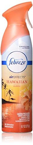 9.7 Ounce Air Effects - Febreze Air Effects, 9.7 Oz, Hawaiian Aloha, Air Refresher - Pack of 2