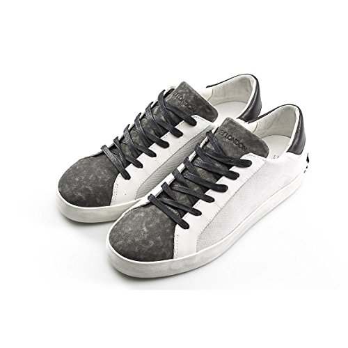 Crime London Sneakers Basse Uomo Canvas Size : 42