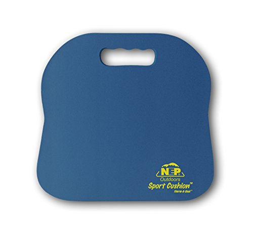 NEP Outdoors Therm-a-Seat Sport Cushion Sporting Event Seat Pad, Royal