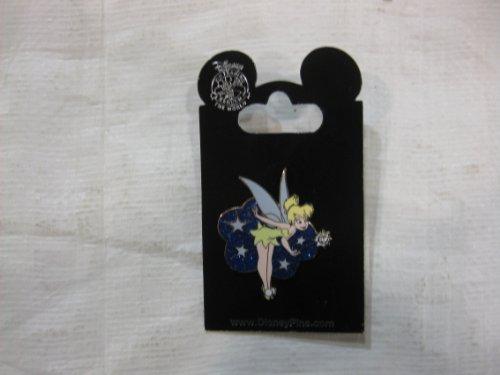 Disney Pin Tinkerbell Jeweled Pixie Dust Wand