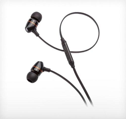 NuForce NE 650M BK Efficient Earphones Microphone