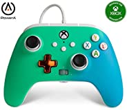 PowerA Enhanced Wired Controller for Xbox - Seafoam Fade, Gamepad, Wired Video Game Controller, Gaming Control