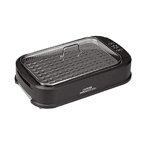 Tristar PSG-TR Power Smokeless Grill By Tristar As Seen On TV w/PAF PRO Pizza Kit- 4 pc set by Tristar (Image #1)