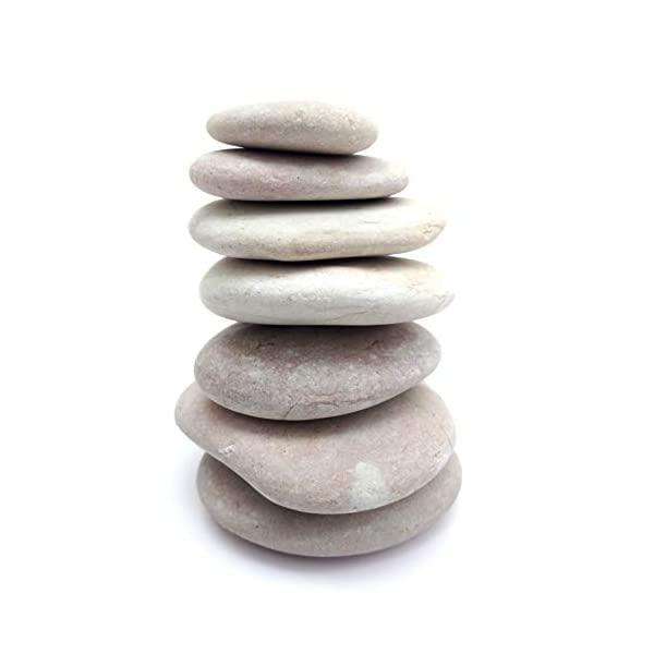 Capcouriers-Rocks-for-Painting-Smooth-Painting-Rocks-Perfect-for-Kindness-Rocks-About-2-inches-in-Length