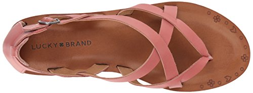 Brand Mujer Canyon para Sandalia Lucky Rosa Ainsley a6Udqvv