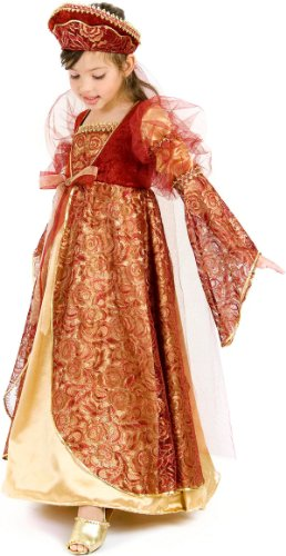 Princess Paradise Princess Anne Child Costume Red Large