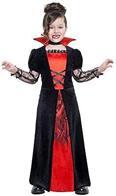 Car&Gus Disfraz de Vampiresa Encaje para niña: Amazon.es: Juguetes ...