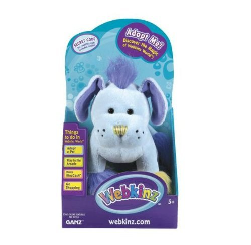 Webkinz Mohawk Puppy in Box with Trading Cards