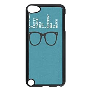 DIY Life Quote Look At Things Different Ipod Touch 5 Cover Case, Life Quote Look At Things Different Personalized Phone Case for iPod Touch5 at Lzzcase