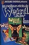 Les Meilleurs récits de Weird Tales - 2 : période 1933/37 par Sadoul