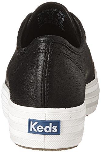 Sneakers Fashion Suede Metallic Kick Triple Black Women's Keds Txw6qPzq