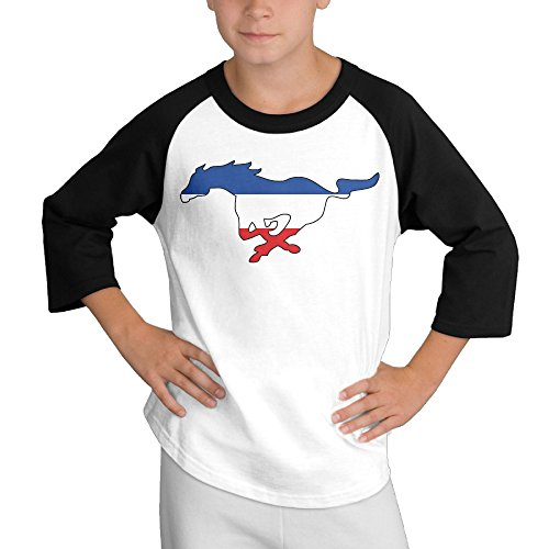 multy9-ford-mustang-child-youth-3-4-sleeve-raglan-x-large