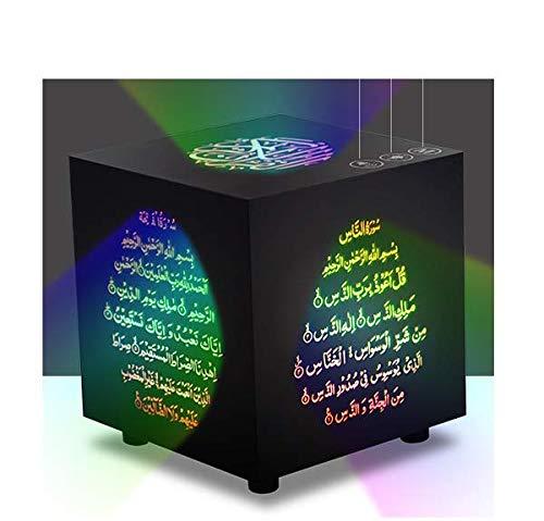 Smart Portable Quran Cube Speaker Bluetooth LED 25 Reciters 25 Translations