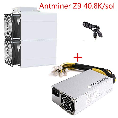 AntMiner Bitmain Z9 Mini 10k Sol/s Equihash Make About $14 one Day inlcude APW3++ and Power Cord (Best Gpu For Hashrate)