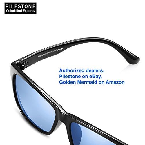 df6877a2492c Pilestone TP-020 Color Blind Corrective Glasses for Color Blindness (Color  Blind Glasses)