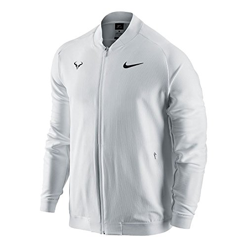 Nike Mens Premier Rafael Nadal Woven Tennis Jacket White 728986 101 Small On Galleon Philippines