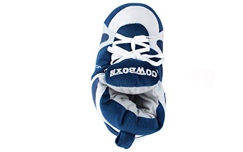 Feet Dallas LICENSED Slippers Cowboys NFL Sneaker and OFFICIALLY Happy Feet Comfy Mens Womens SwxHBpEEqn