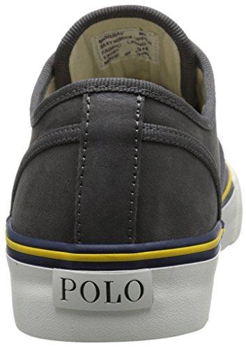 Polo Ralph Lauren Manar Morray Nubuck Mode Sneaker Mörkgrå