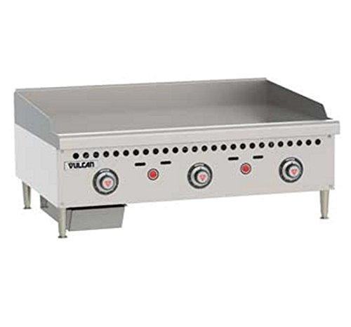 Gas Griddle Vulcan (Vulcan VCRG36-T Griddle gas countertop 36