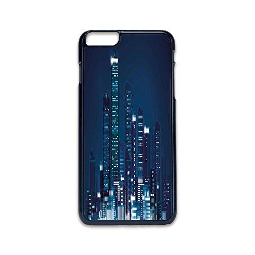 Phone Case Compatible with iPhone6 Plus iPhone6s Plus 2D Print Black Edge