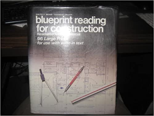 Blueprint reading for construction residential and commercial 96 blueprint reading for construction residential and commercial 96 large prints amazon books malvernweather Choice Image