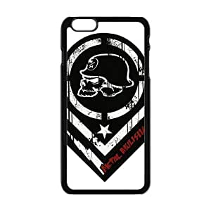 ACDC Brown Logo Black Blackground For Iphone 6Plus 5.5Inch Case Cover