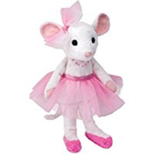 (Cuddle Toys 669 23 cm Tall Petunia Ballerina Mouse Plush Toy)