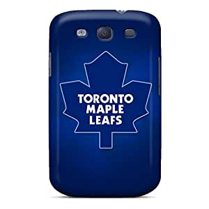Samsung Galaxy S3 AnC9239zWaM Support Personal Customs Vivid Toronto Maple Leafs Skin Shockproof Hard Cell-phone Case -ErleneRobinson
