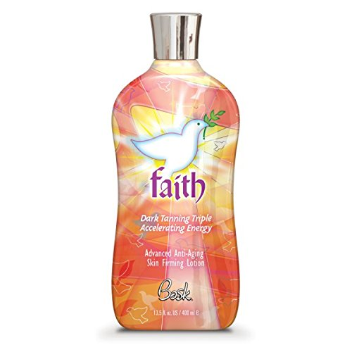 Bask Faith Dark Tanning Triple Accelerating Energy with Advanced Anti-Aging Skin Firming Lotion 400ml