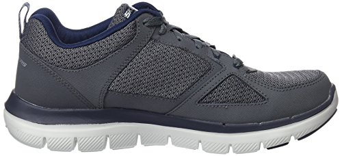 Charcoal Skechers Low Dual Top Light Grau Blue Herren YtPrxwUY