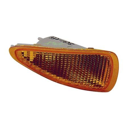 Fits Chevrolet Cavalier Sedan 1995-1999/Coupe Base,RS Model 1995-1999/Convertible 1995-1997 Parking Signal Light Unit Driver Side w/o Z24 (CAPA Certified) GM2520139C